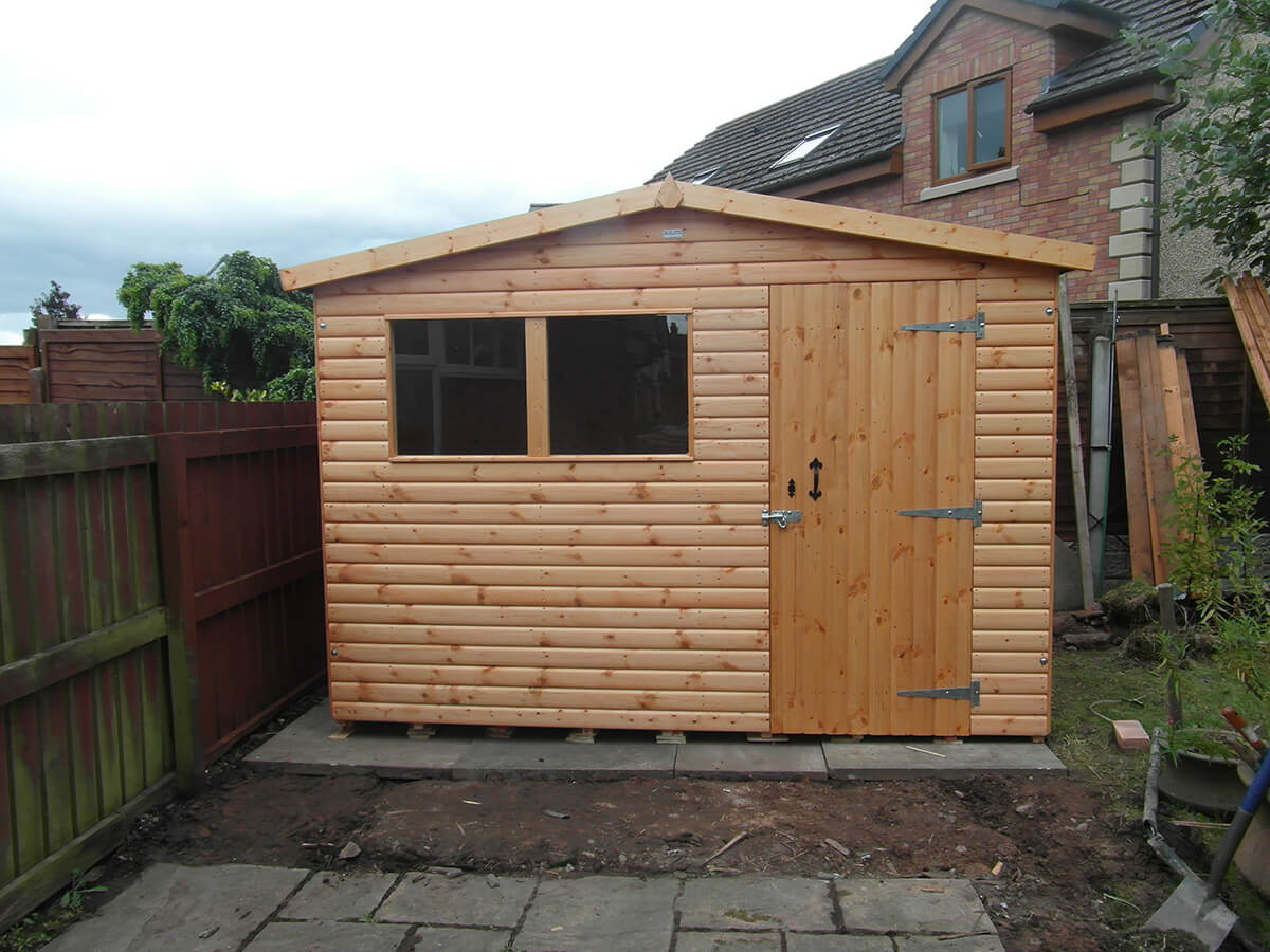 garden structures shed shade patio wooden gardens sheds ebay summer in house pin