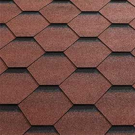 katepal red roof tiles