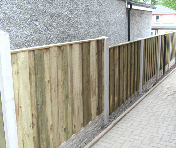 Harker Board On Board 6x2 Wooden Fence Panel