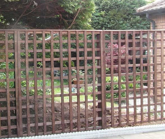 Harker Trellis 6x6 Wooden Fence Panel