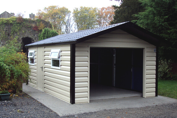 Metal Garage Building