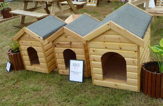 traditional dog kennels